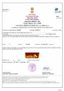Attica-Trademark-Certificate